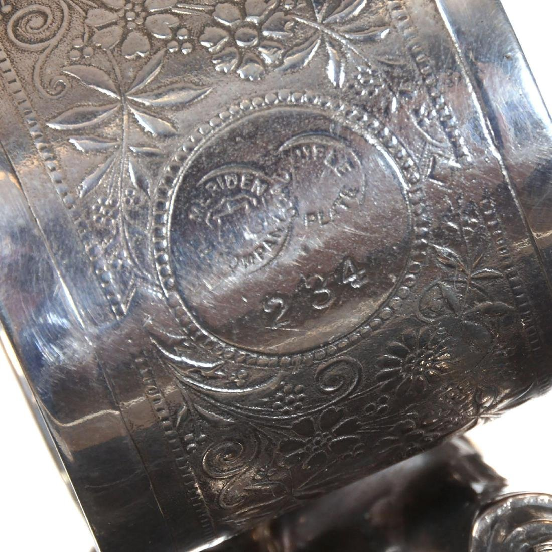 Silver-plate Napkin Ring - 3