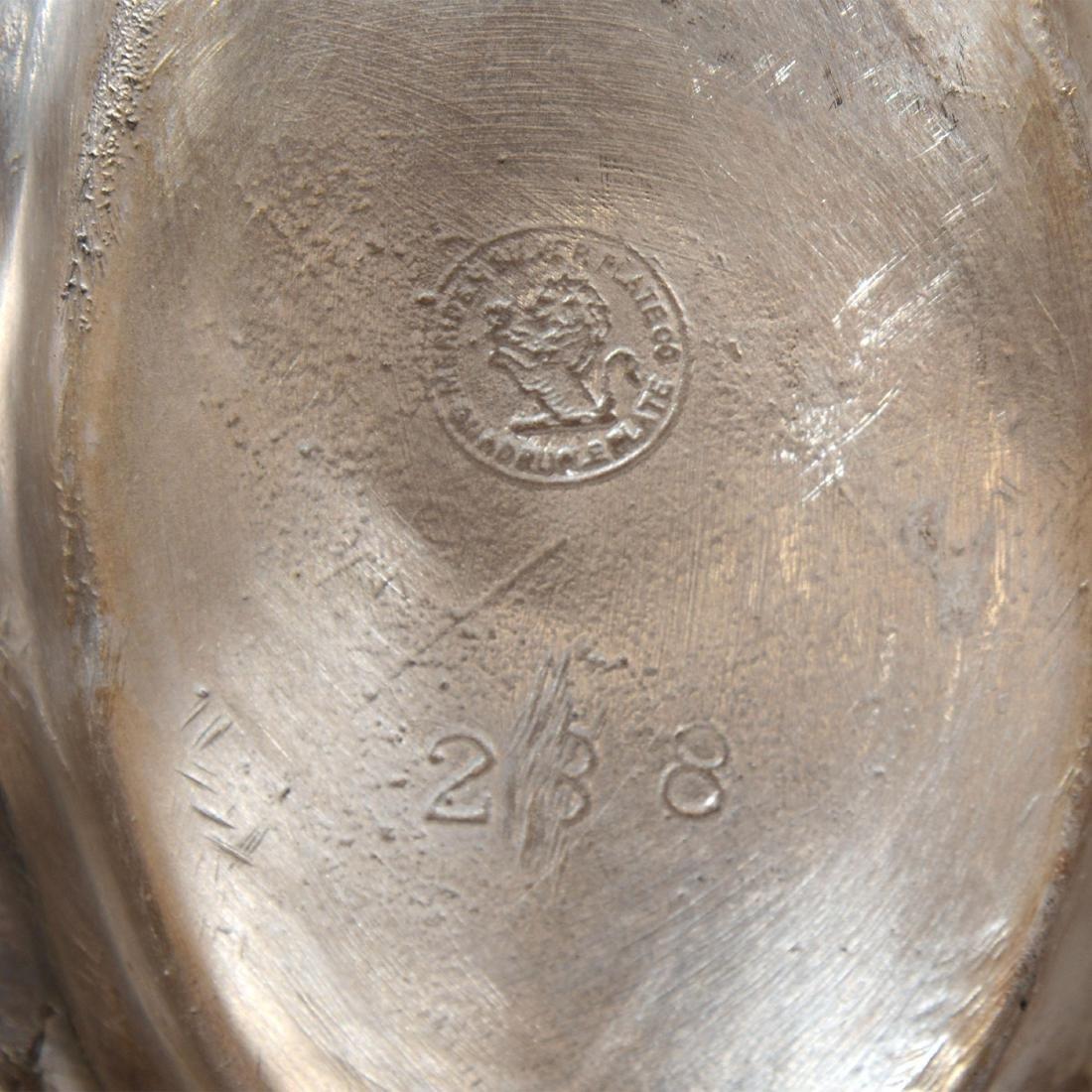 Pair Silver-plate Napkin Rings - 3