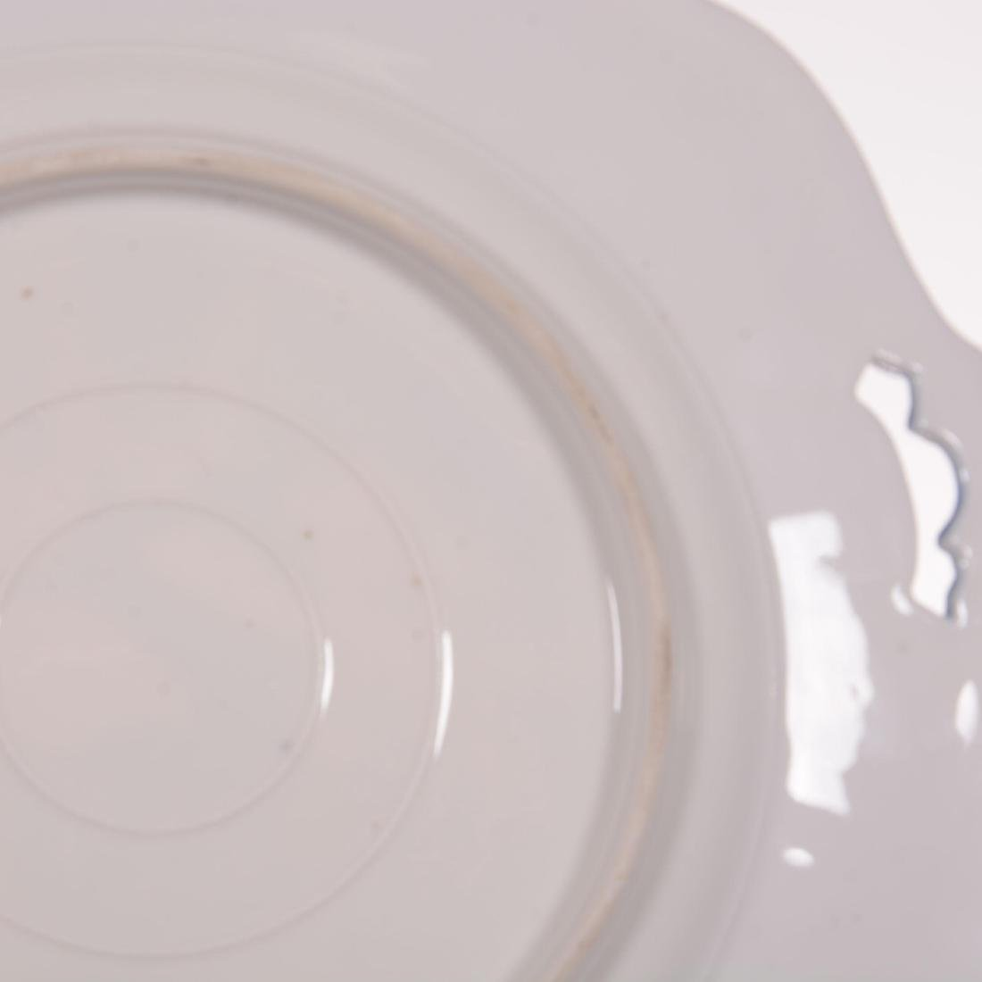 Two Unmarked R.S. Prussia Mold #343 Cake Plates - 3