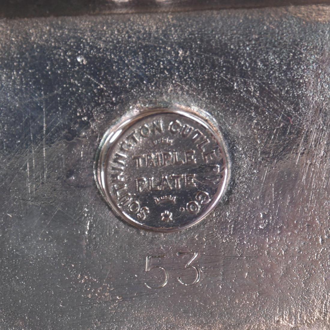 Figural Silver-plate Napkin Ring - 3