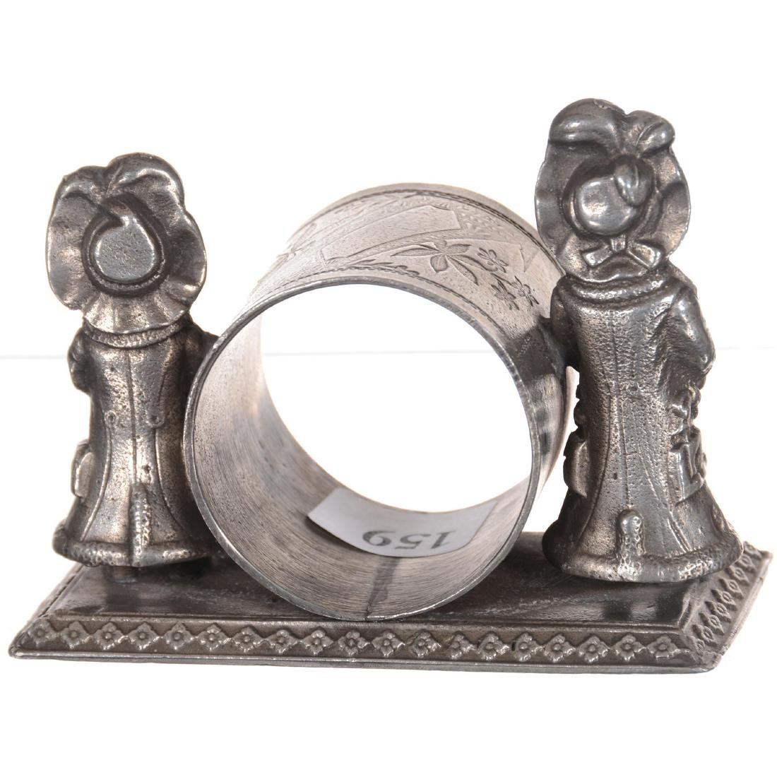 Silver-plate Napkin Ring - 2