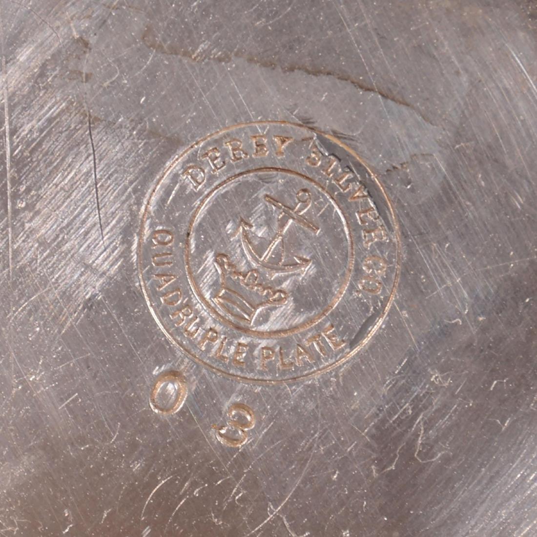 Derby #08 Original Silver-plate Glue Pot - 3