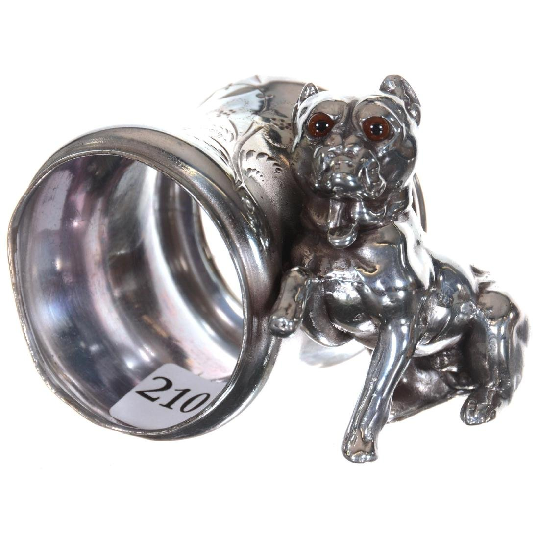 Figural Silver-plate Napkin Ring