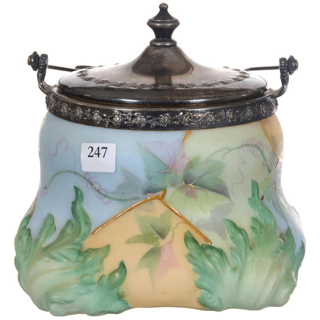 Unmarked Mt. Washington Biscuit Jar - 2
