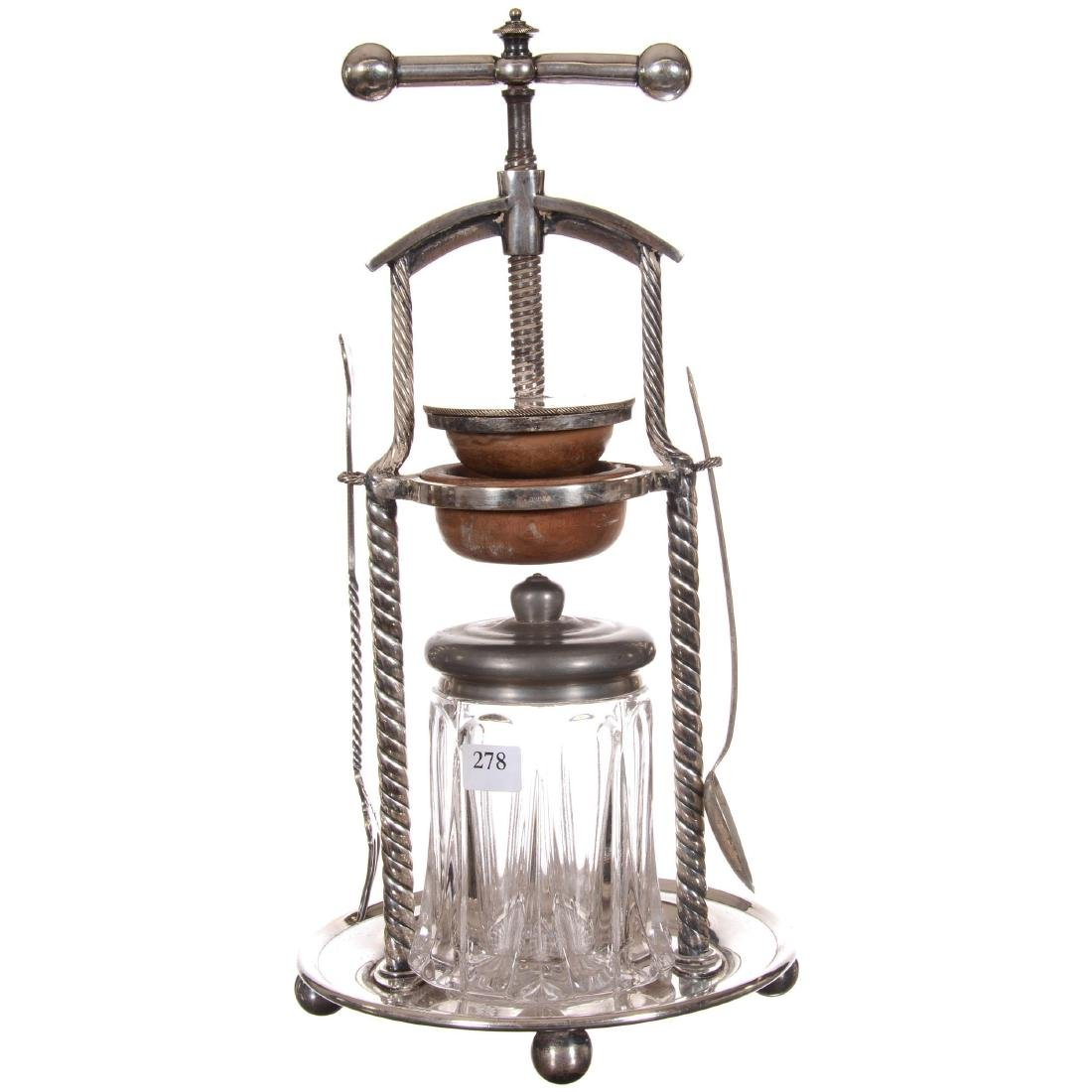 Vintage Victorian Era Juice Press