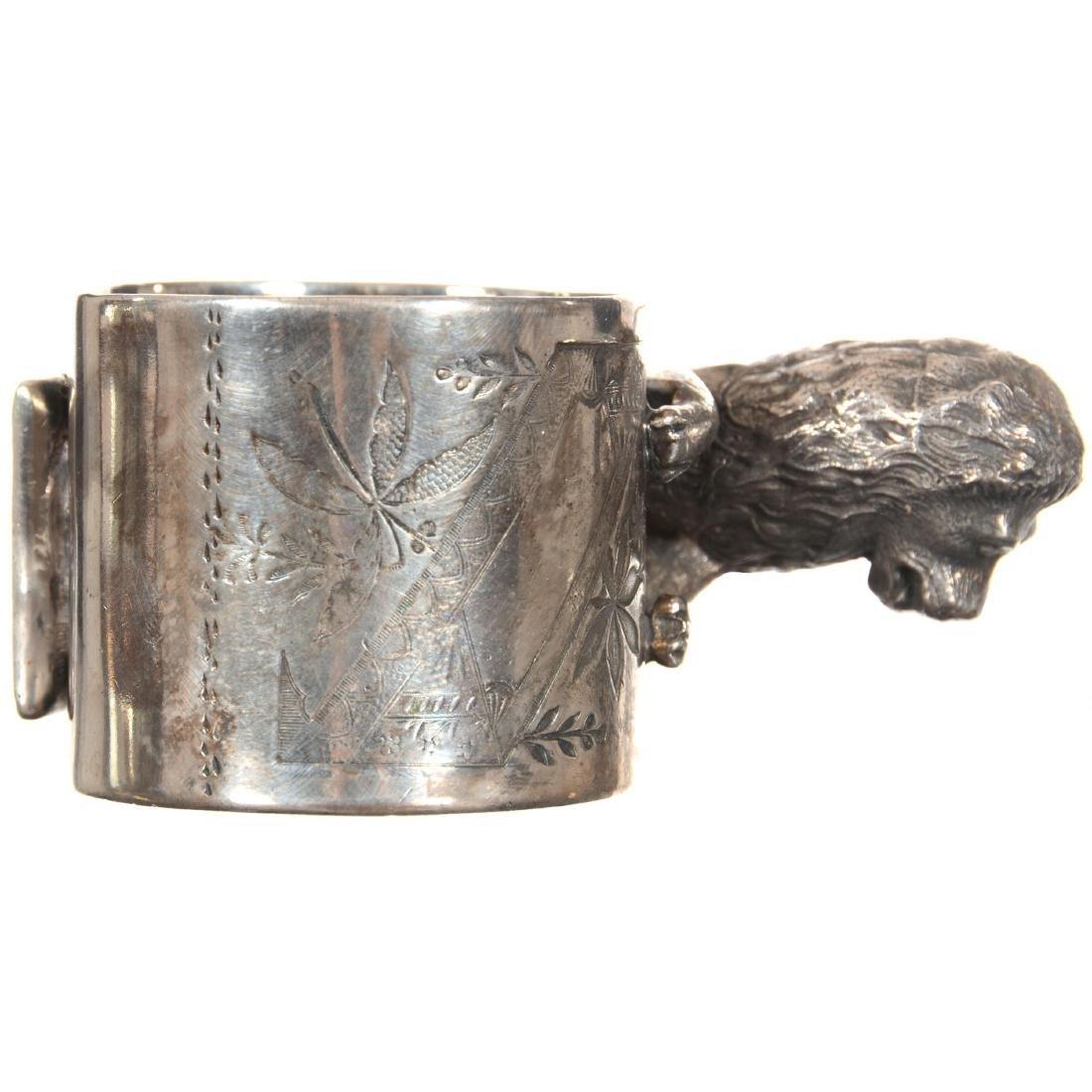 Figural Silver-plate Napkin Ring - 2