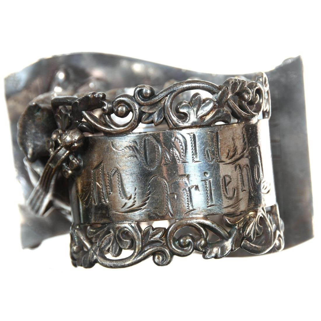 Two Figural Silver-plate Napkin Rings - 4