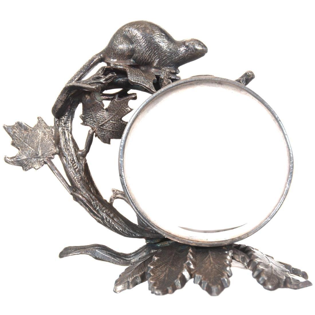 Figural Silver-plate Napkin Ring