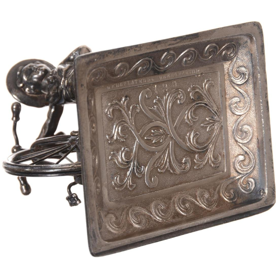 Figural Silver-plate Paperweight - 3