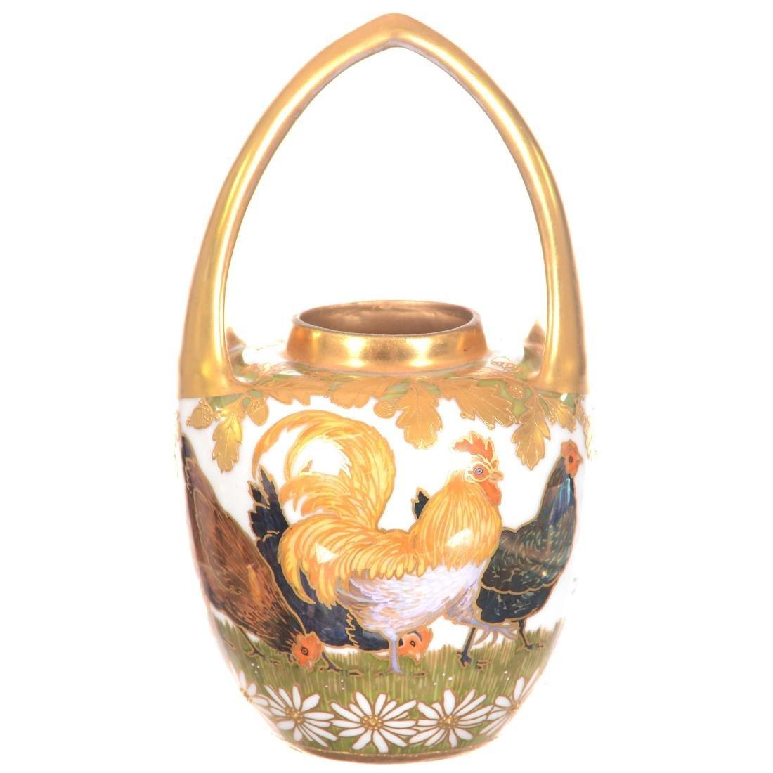 """Signed """"Strombergshyttan"""" Art Glass Vase"""