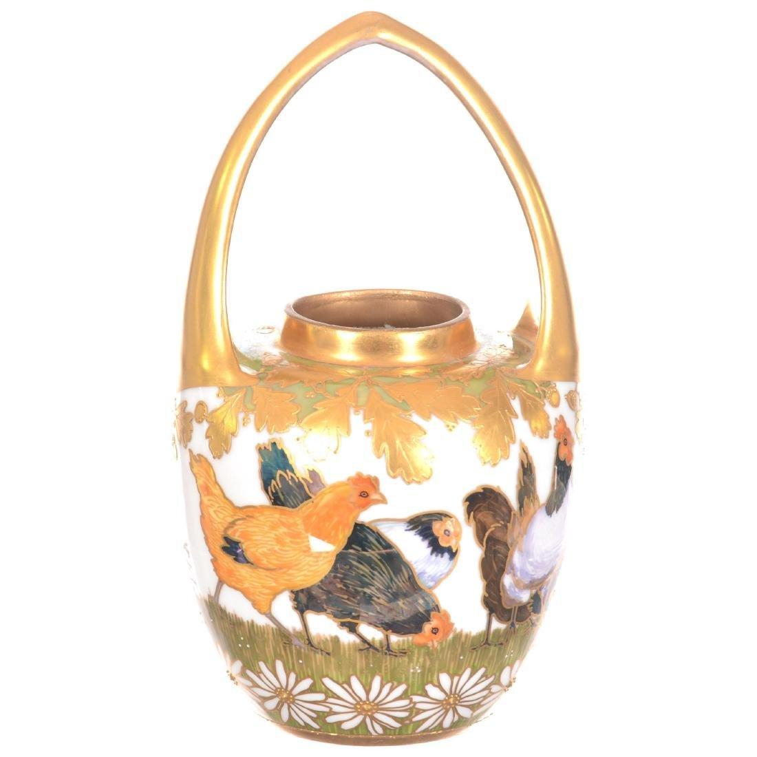 """Signed """"Strombergshyttan"""" Art Glass Vase - 2"""