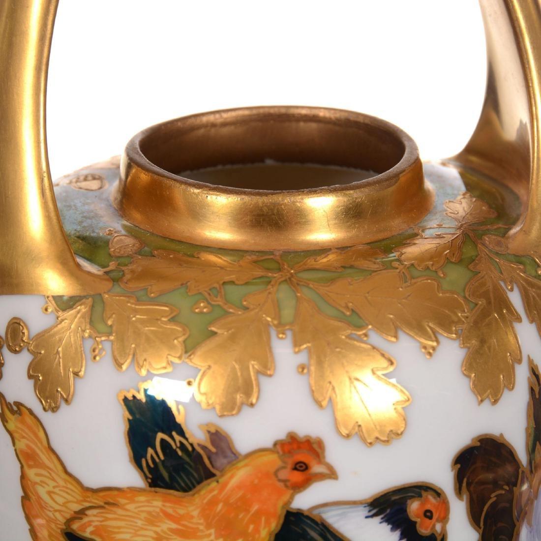 """Signed """"Strombergshyttan"""" Art Glass Vase - 4"""