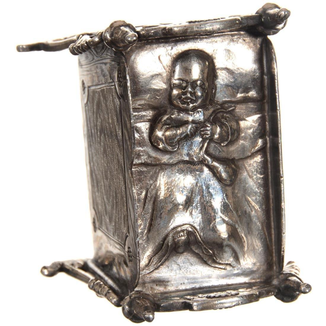 Figural Silver-plate Napkin Ring - 4