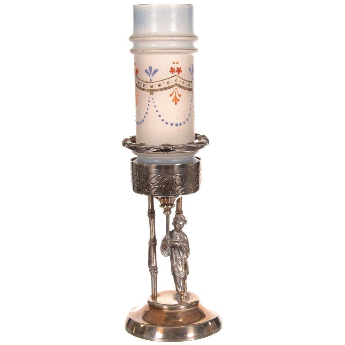 Victorian Cylinder Vase
