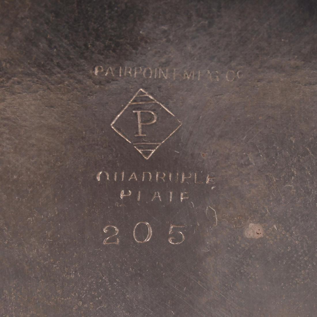 Silver-plate Condiment Set - 4