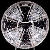 Low Bowl, American Brilliant Cut Glass