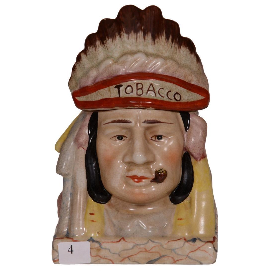 Figural Ceramic Humidor