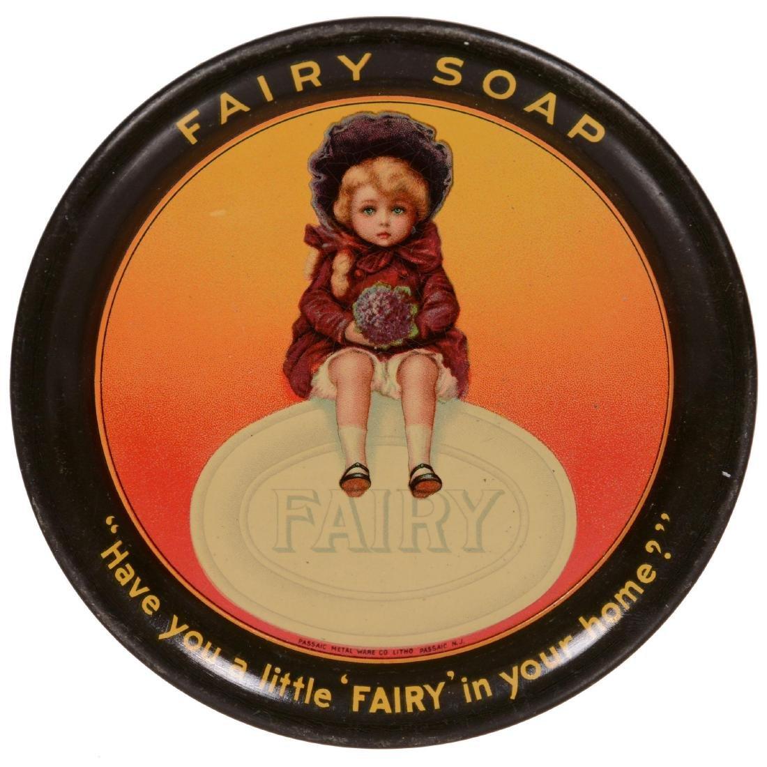 Original Round Advertising Tip Tray