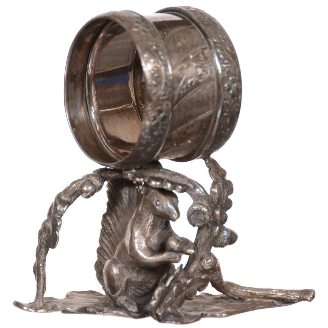 Silverplate Victorian Napkin Ring