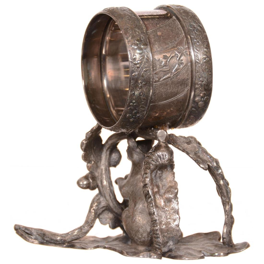 Silverplate Victorian Napkin Ring - 2