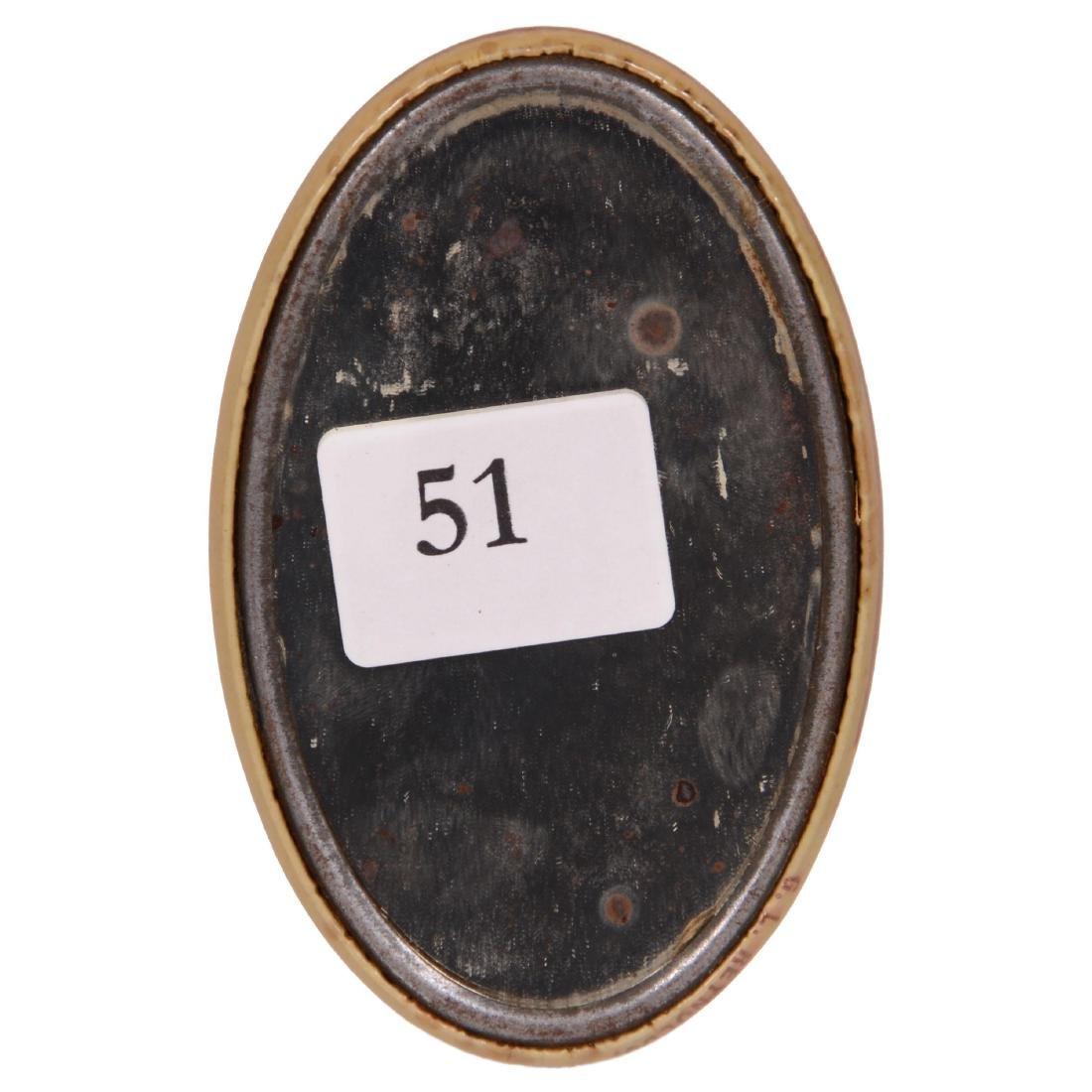 Original Oval Advertising Pocket Mirror - 2