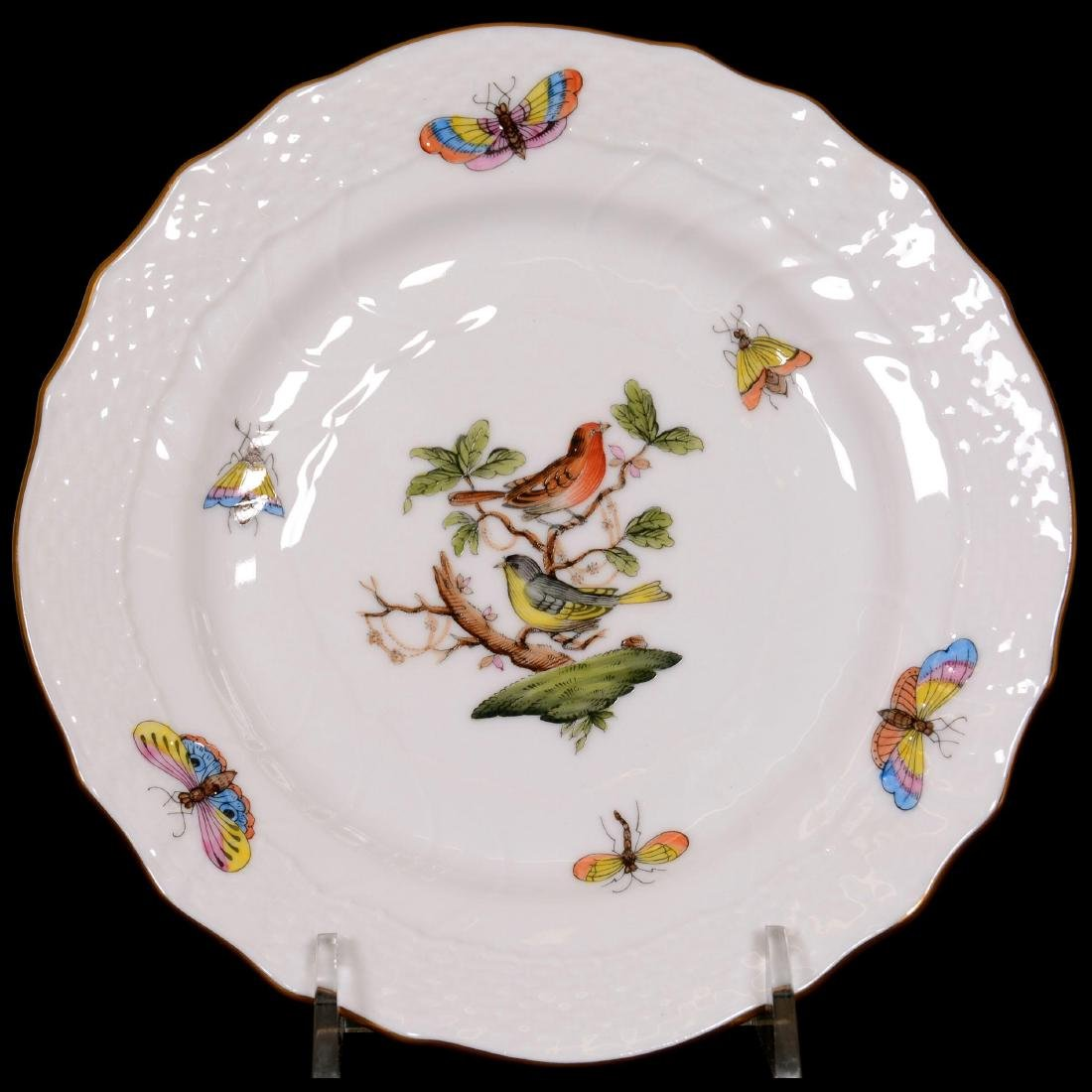 (28) Herend Hungary Porcelain Hand Painted Assorted Ite - 4