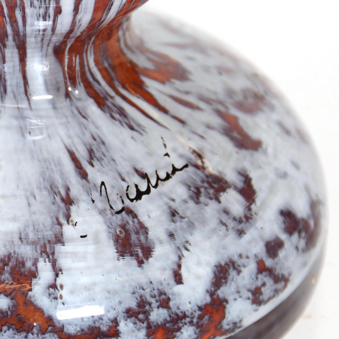 Cased Art Glass Vase - 2