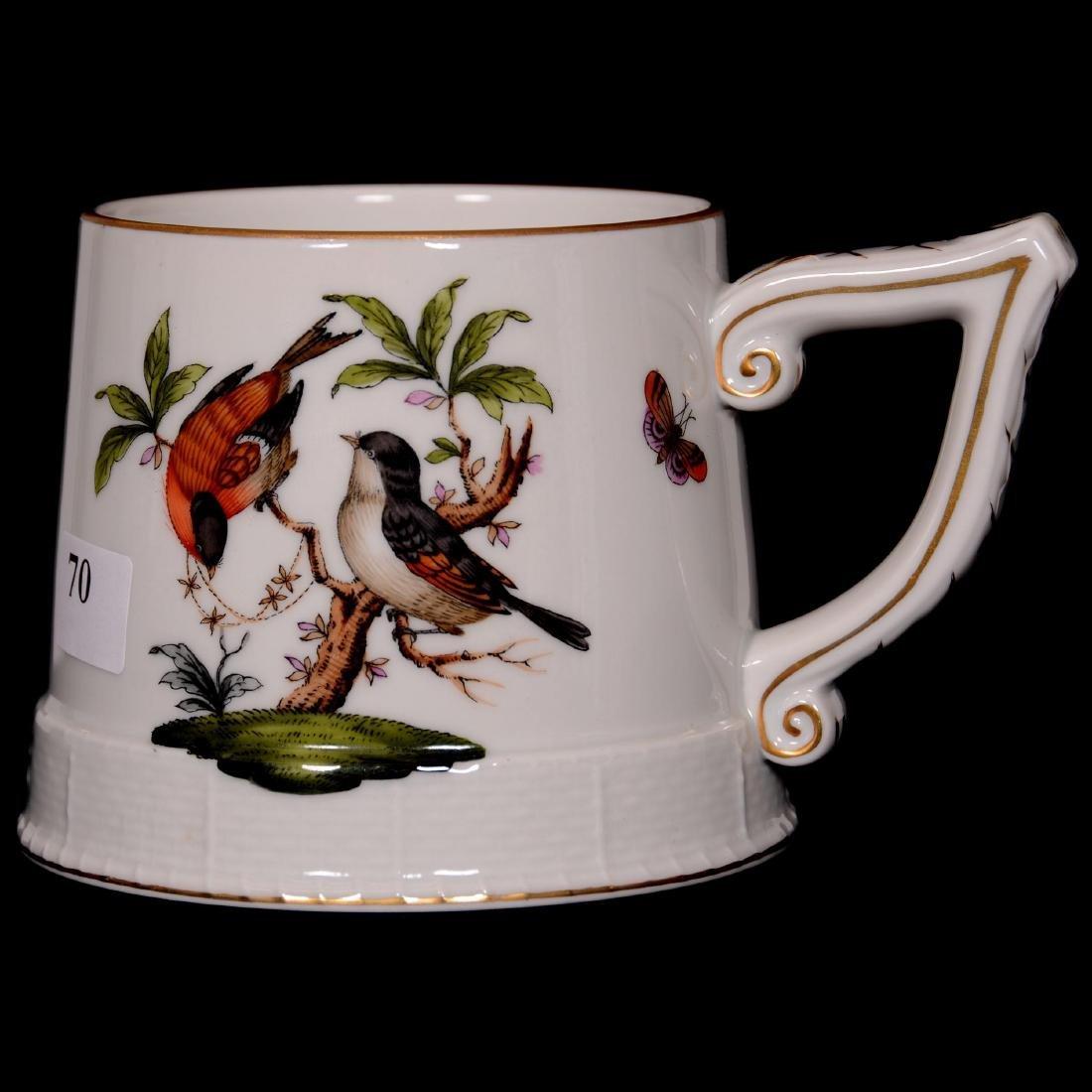 Herend Hungary Porcelain Hand Painted Grand Mug