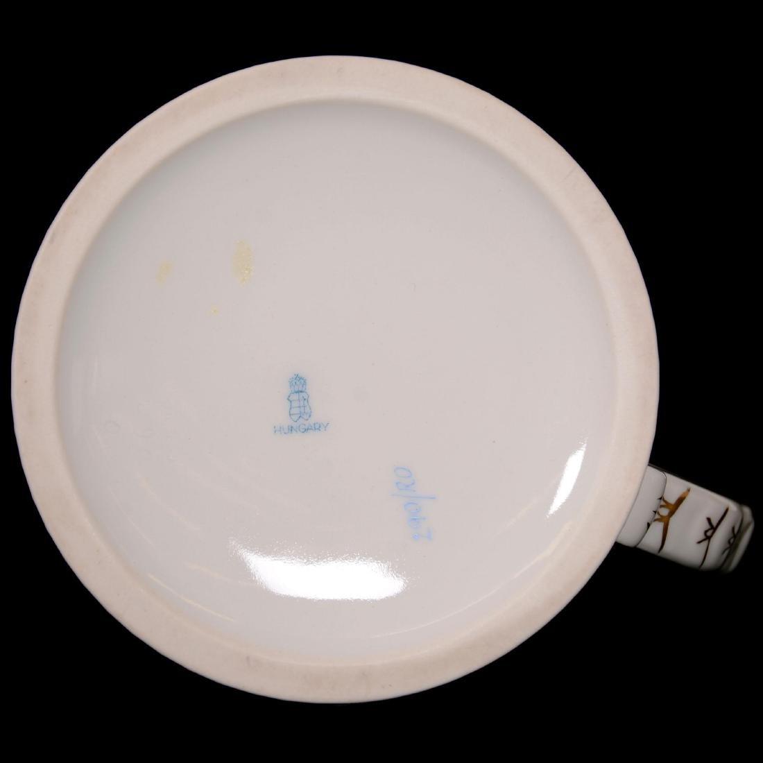 Herend Hungary Porcelain Hand Painted Grand Mug - 2