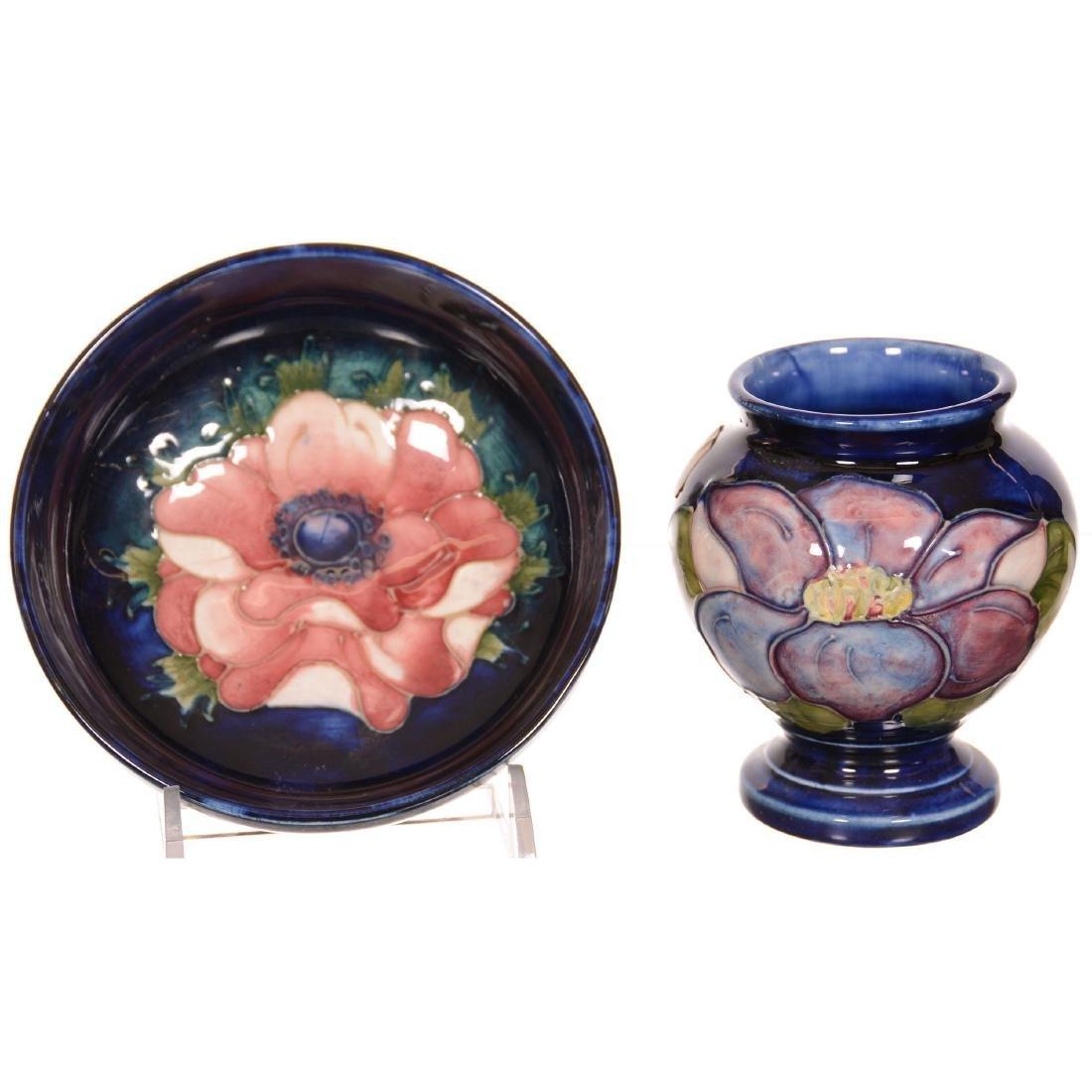 (2) Moorcroft Art Pottery Items - 2
