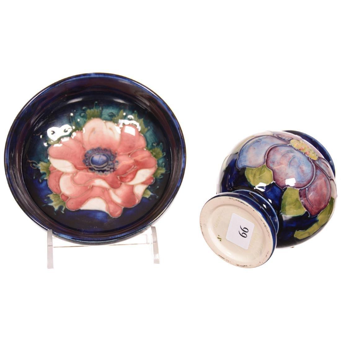 (2) Moorcroft Art Pottery Items - 3