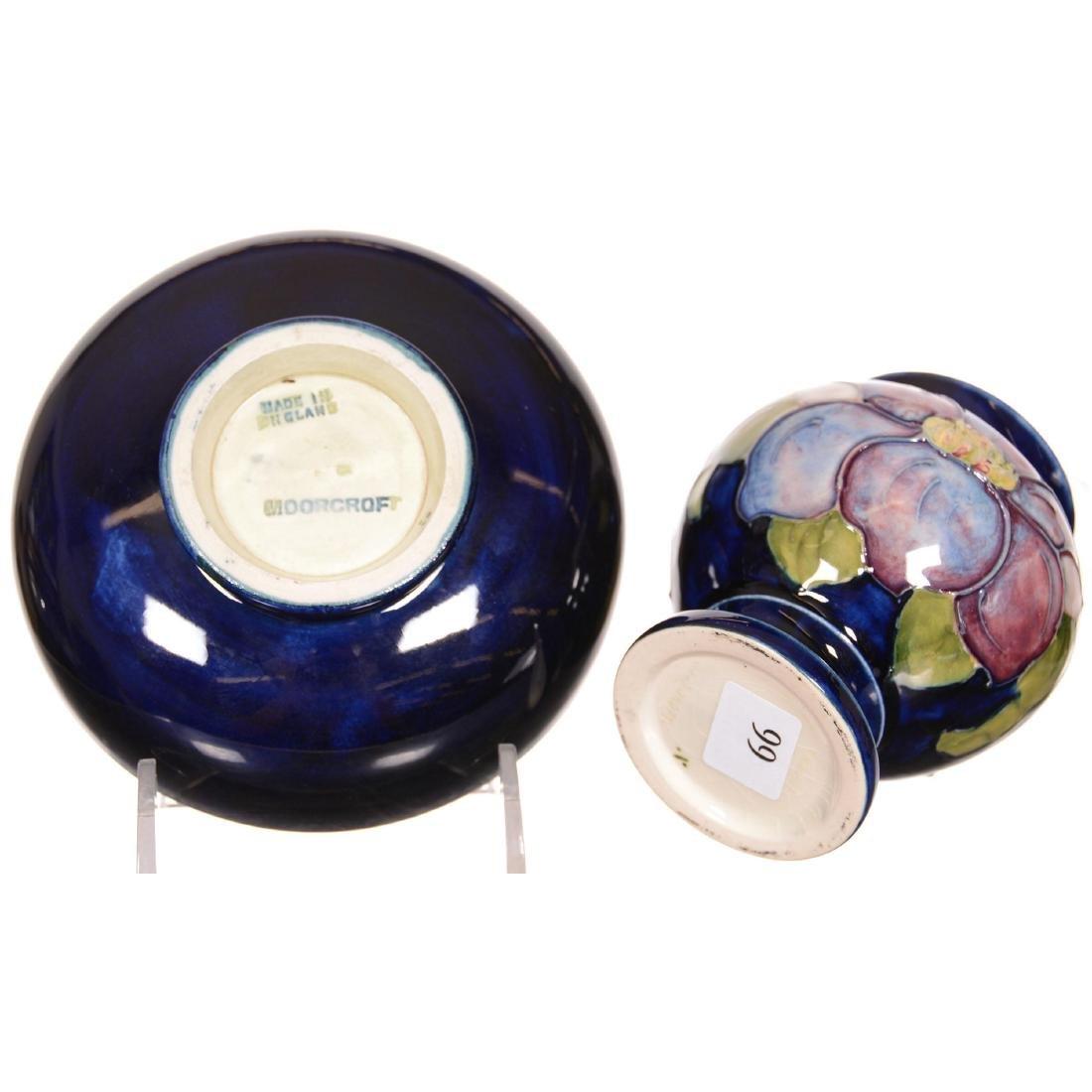 (2) Moorcroft Art Pottery Items - 4