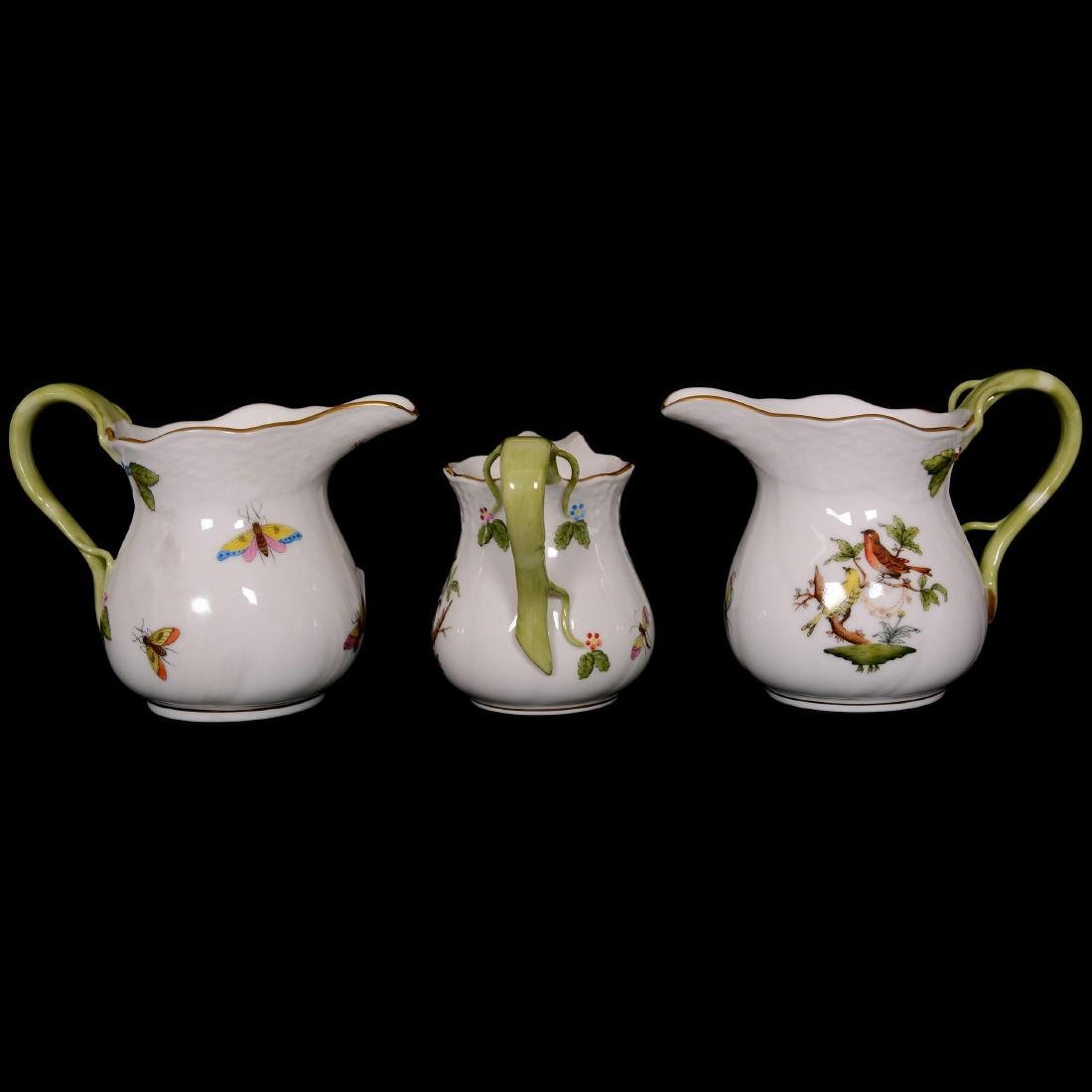 (6) Herend Hungary Porcelain Hand Painted Items - 2