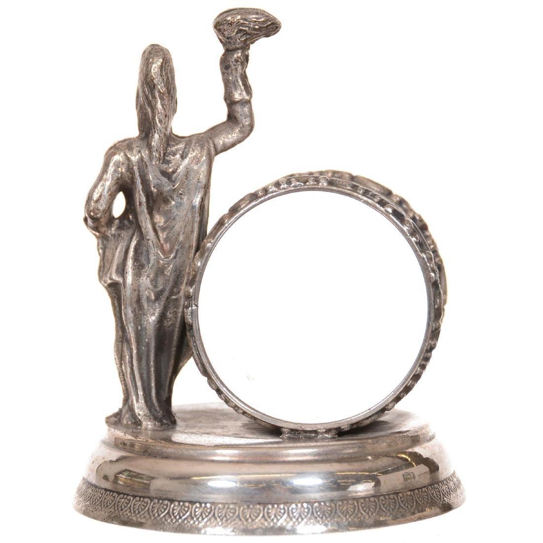 Victorian Silverplate Napkin Ring - 2
