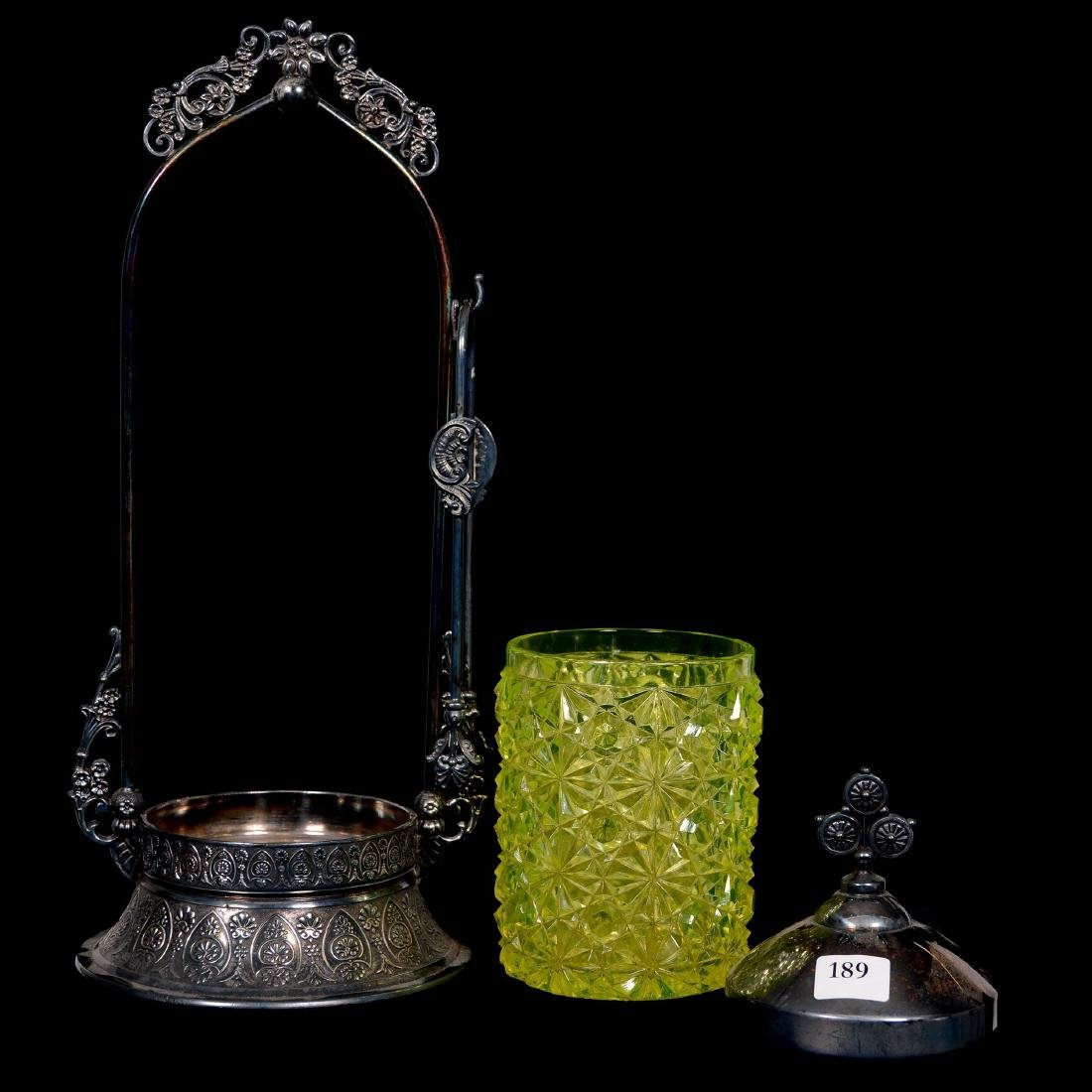 Victorian Pickle Castor - 2