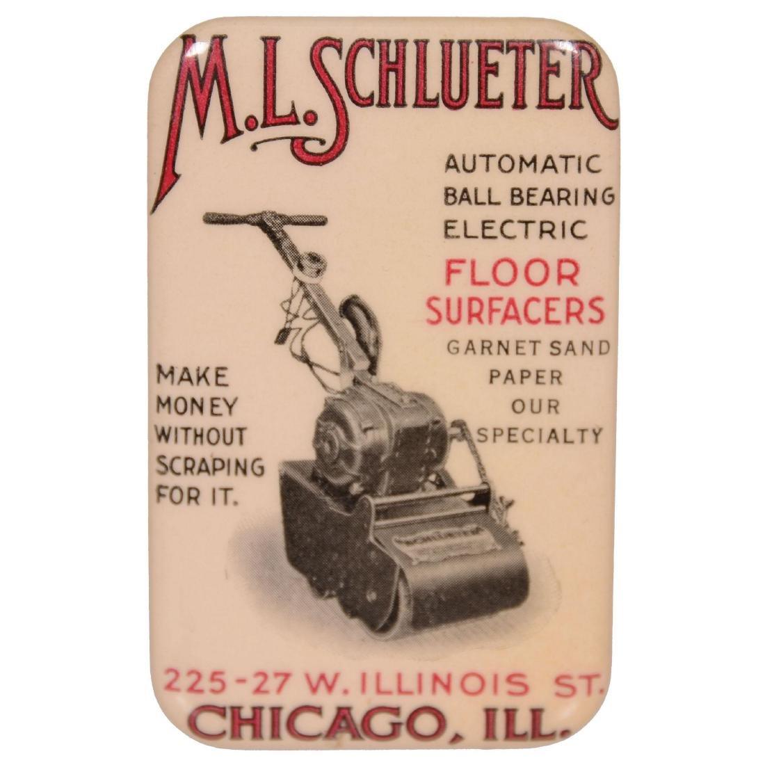 Original Rectangular Advertising Sharpening Stone