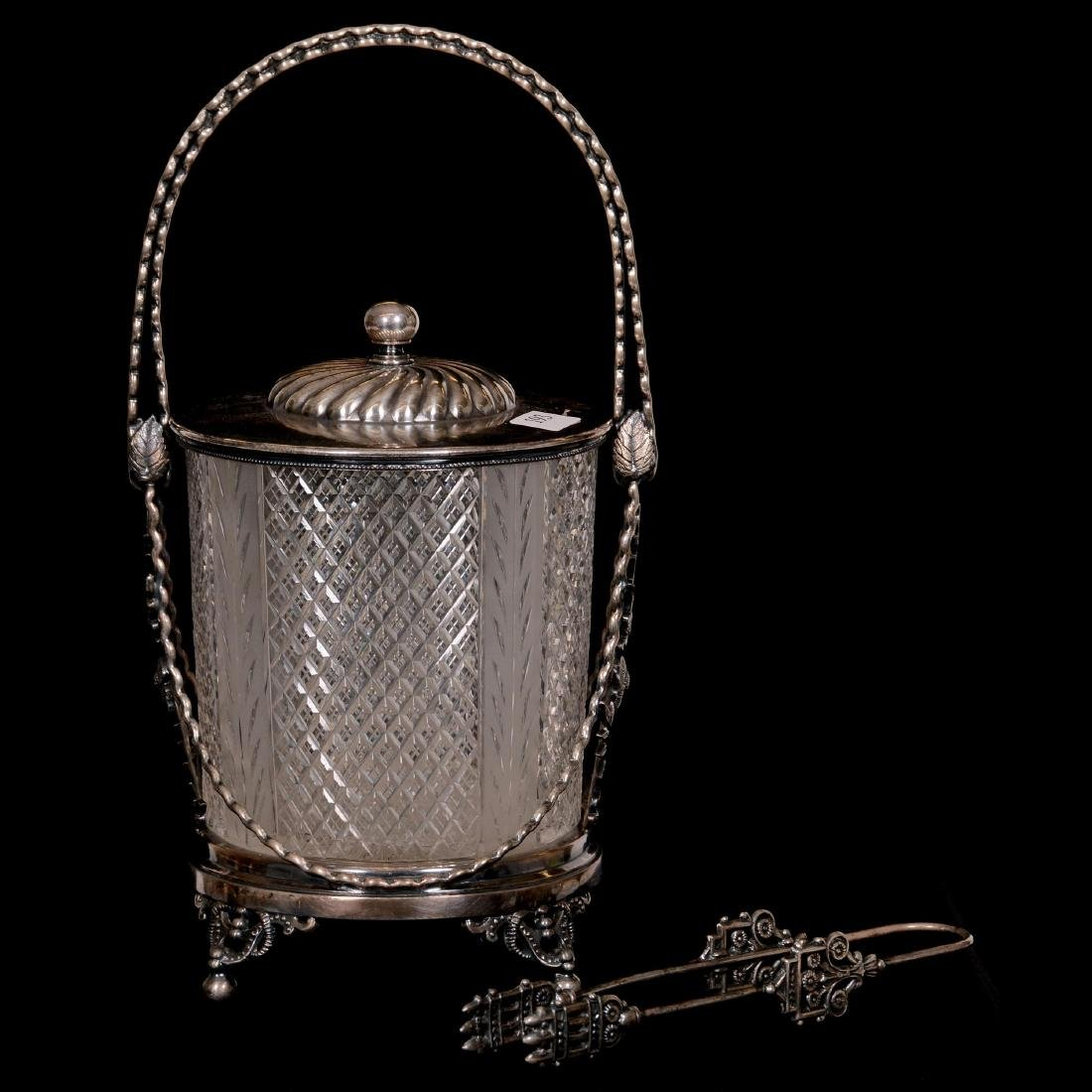 Victorian Covered Jar