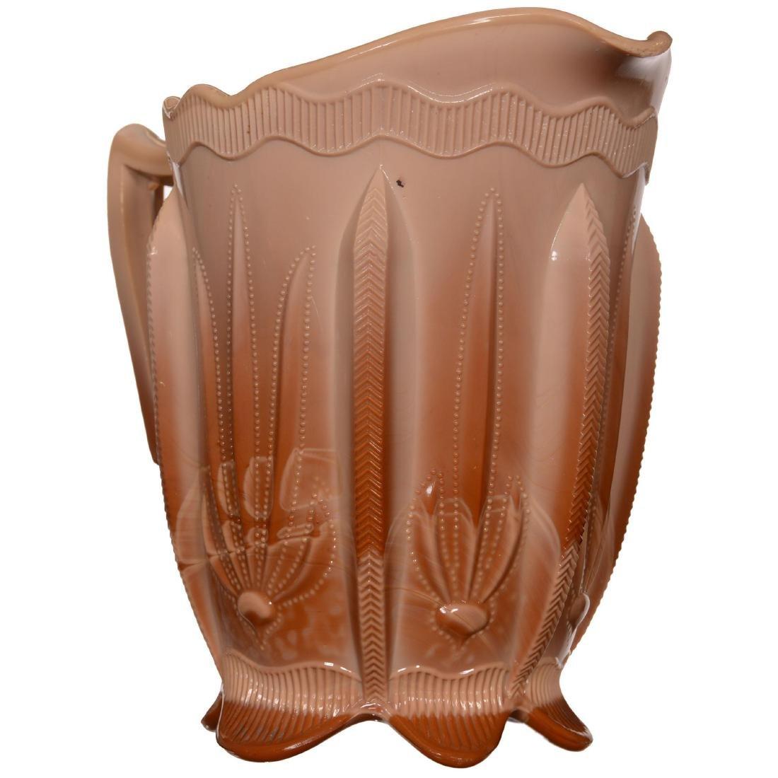 Original Greentown Chocolate Glass Water Set - 2