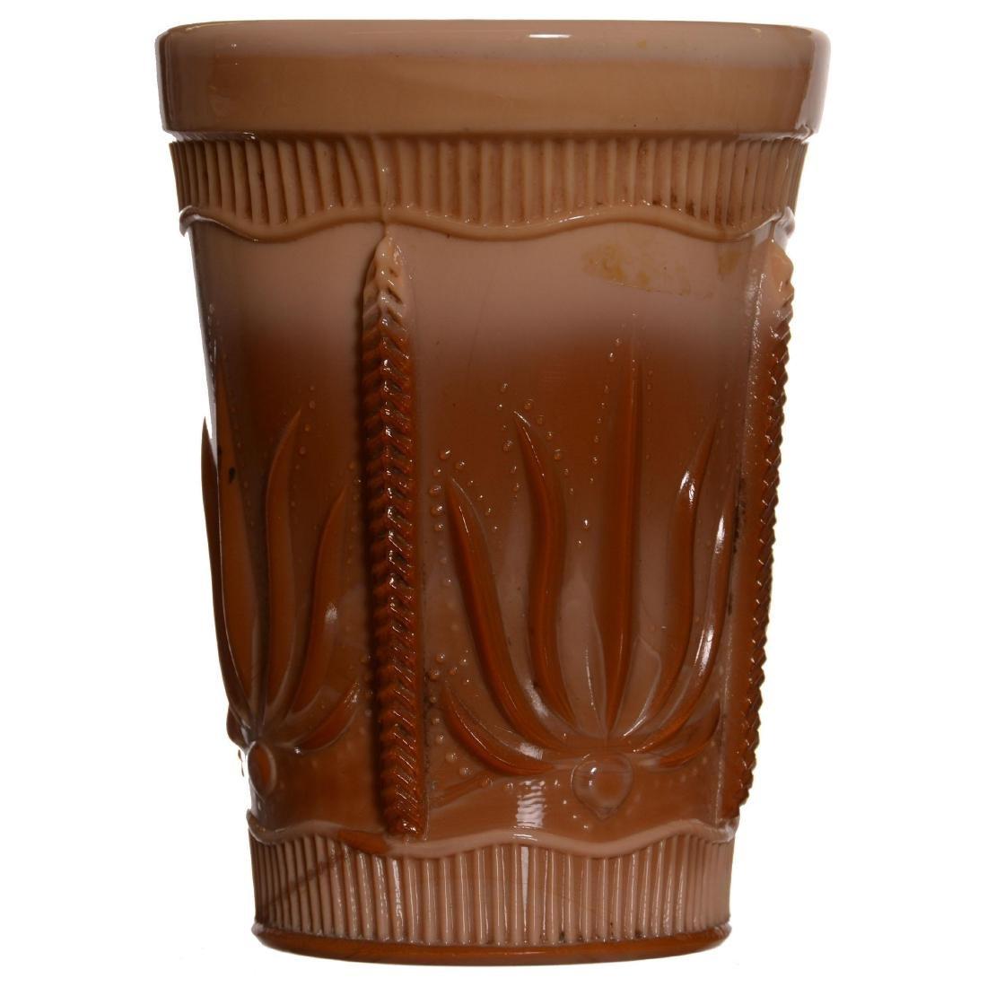 Original Greentown Chocolate Glass Water Set - 4