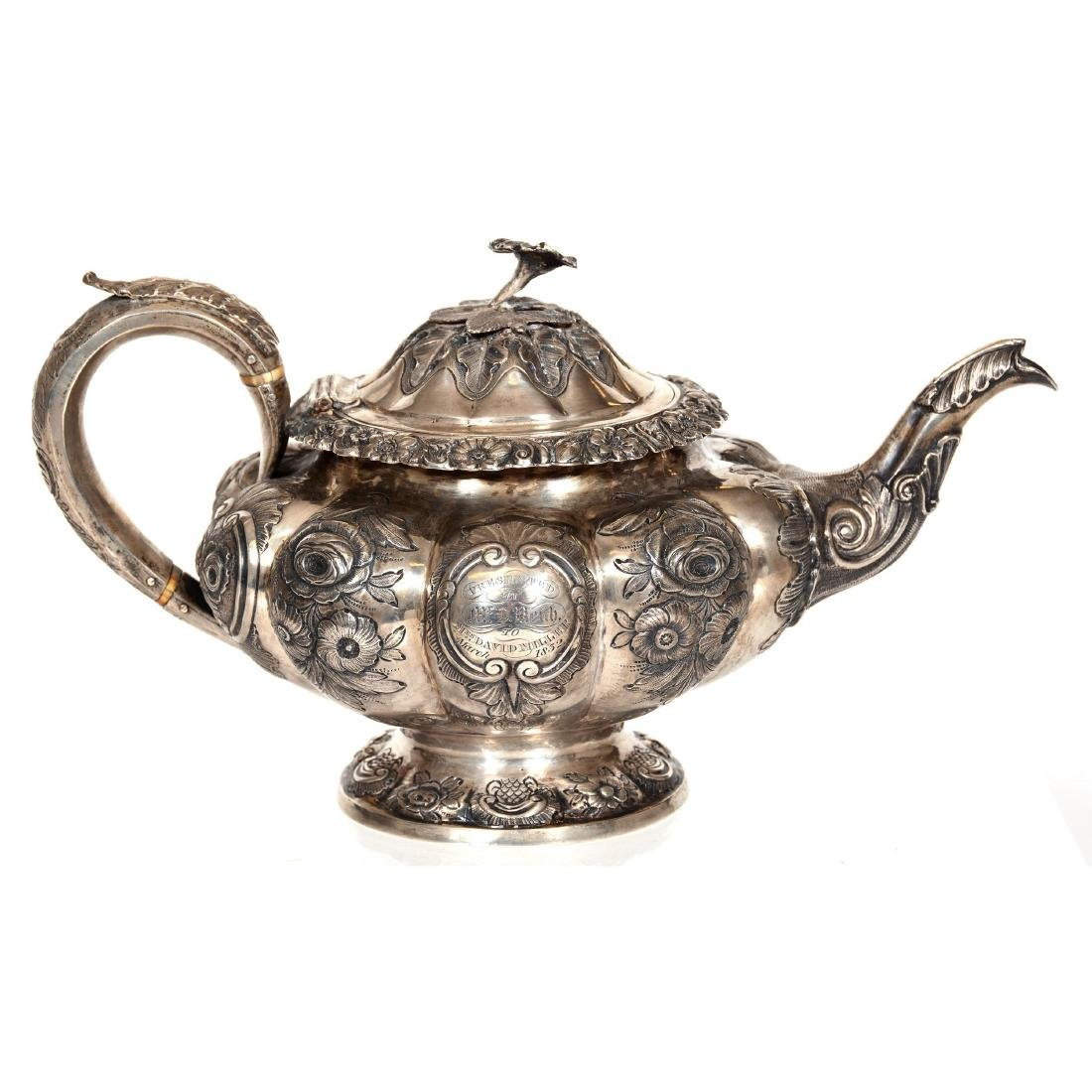 English Sterling Silver Teapot