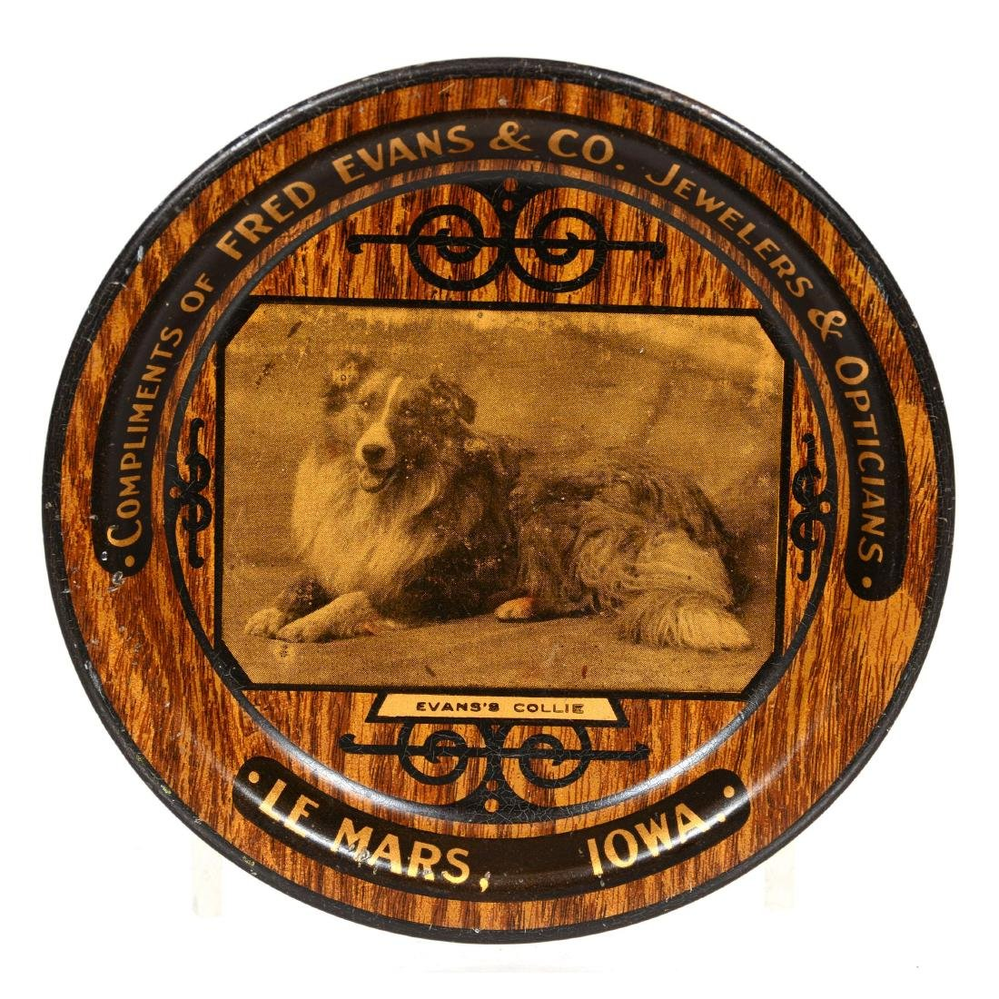 Original Round Advertising Tip Tray