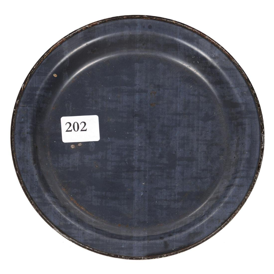 Original Round Advertising Tip Tray - 2