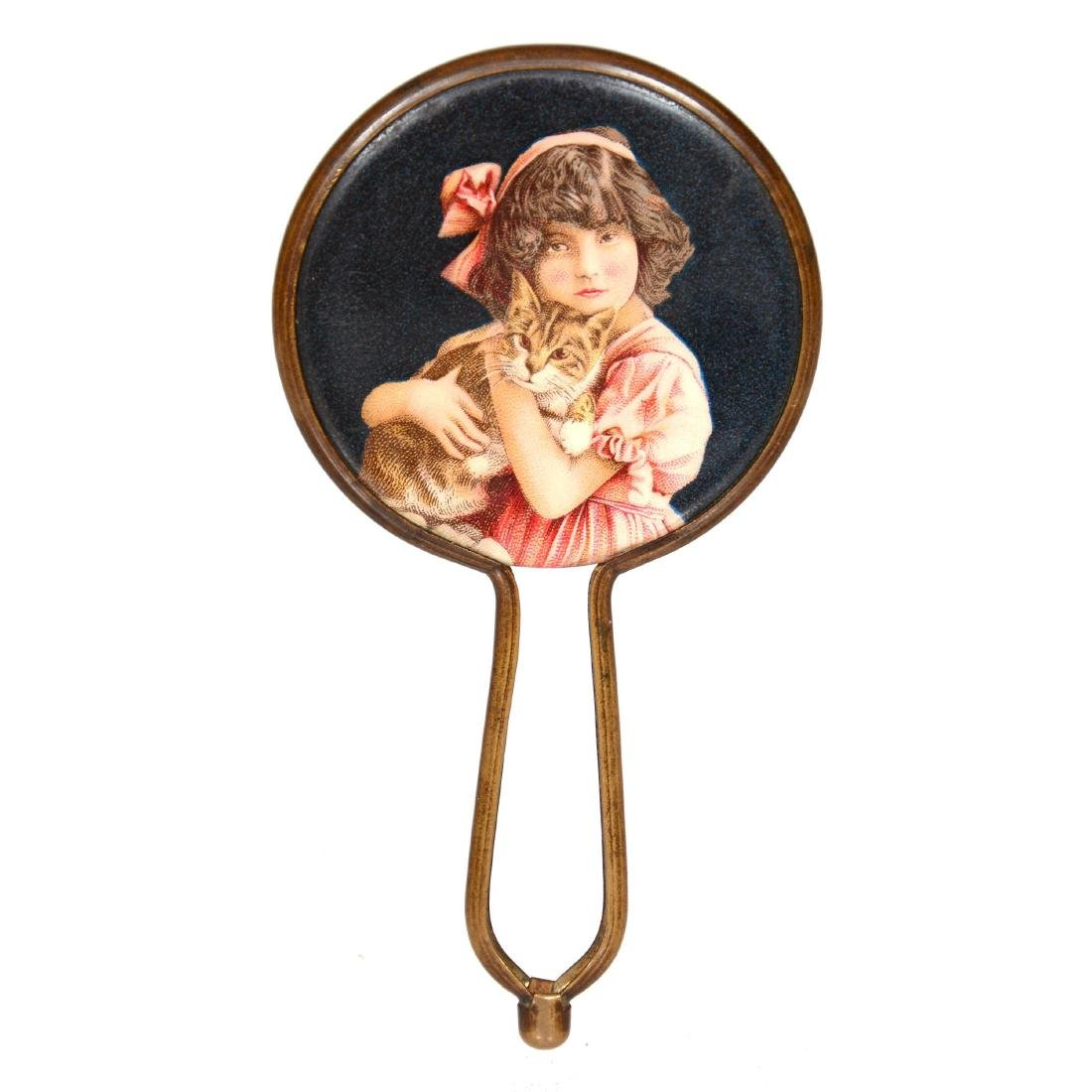 Original Miniature Hand Mirror