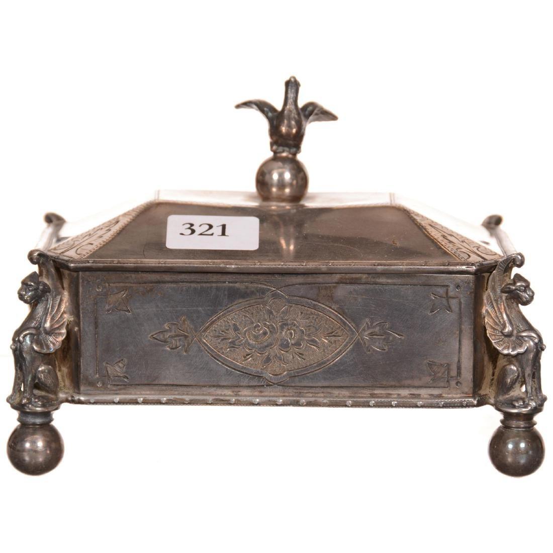Victorian Card Box