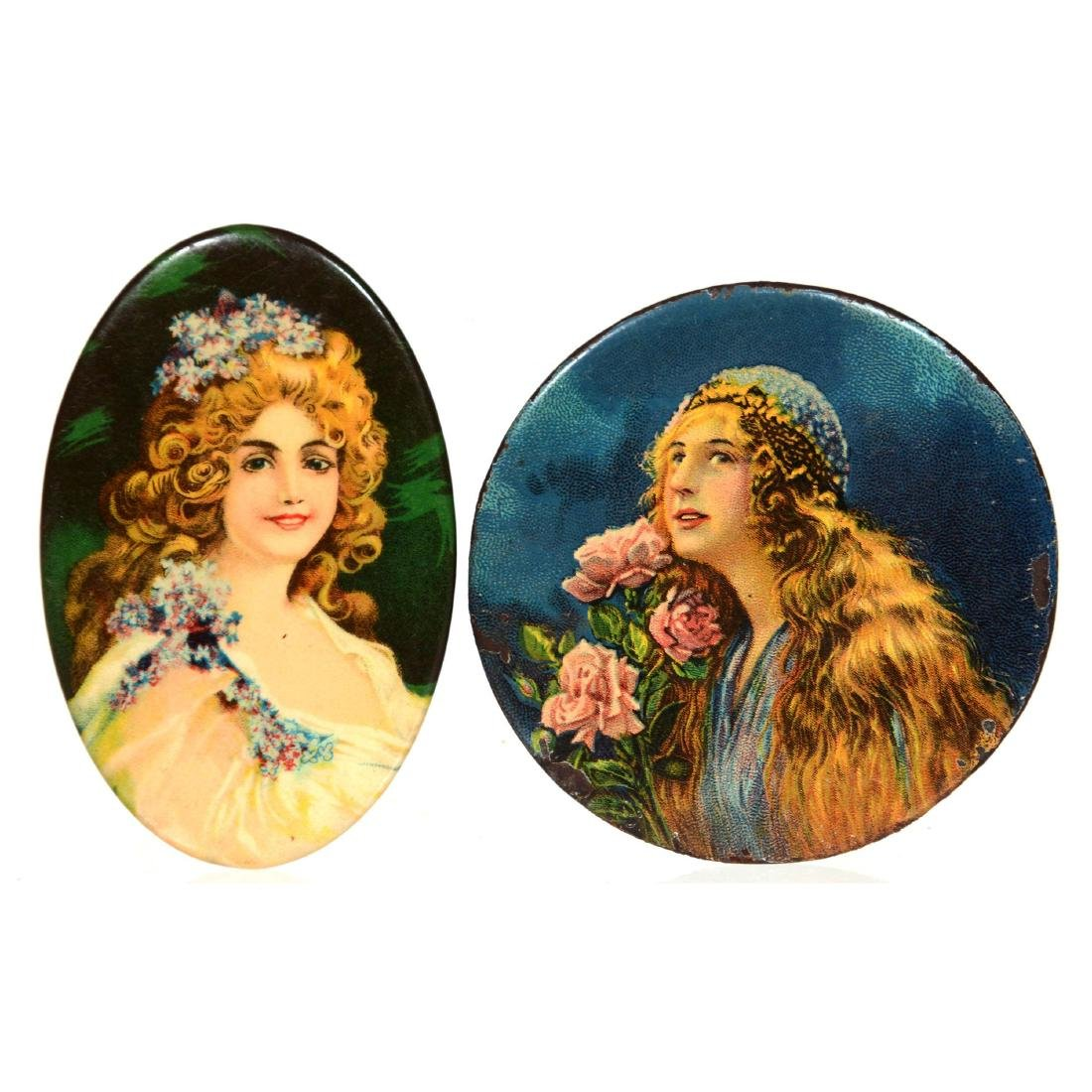 (2) Original Pocket Mirrors