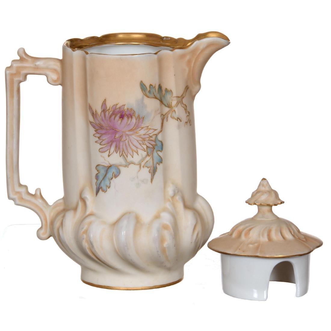 Unmarked Royal Rudolstadt Chocolate Pot - 3
