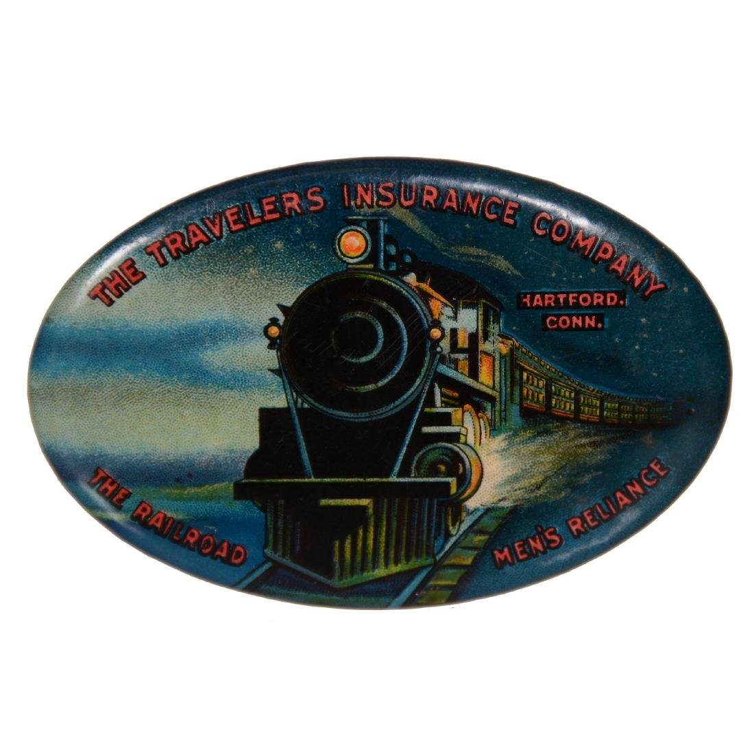 (3) Original Advertising Pocket Mirrors - 2