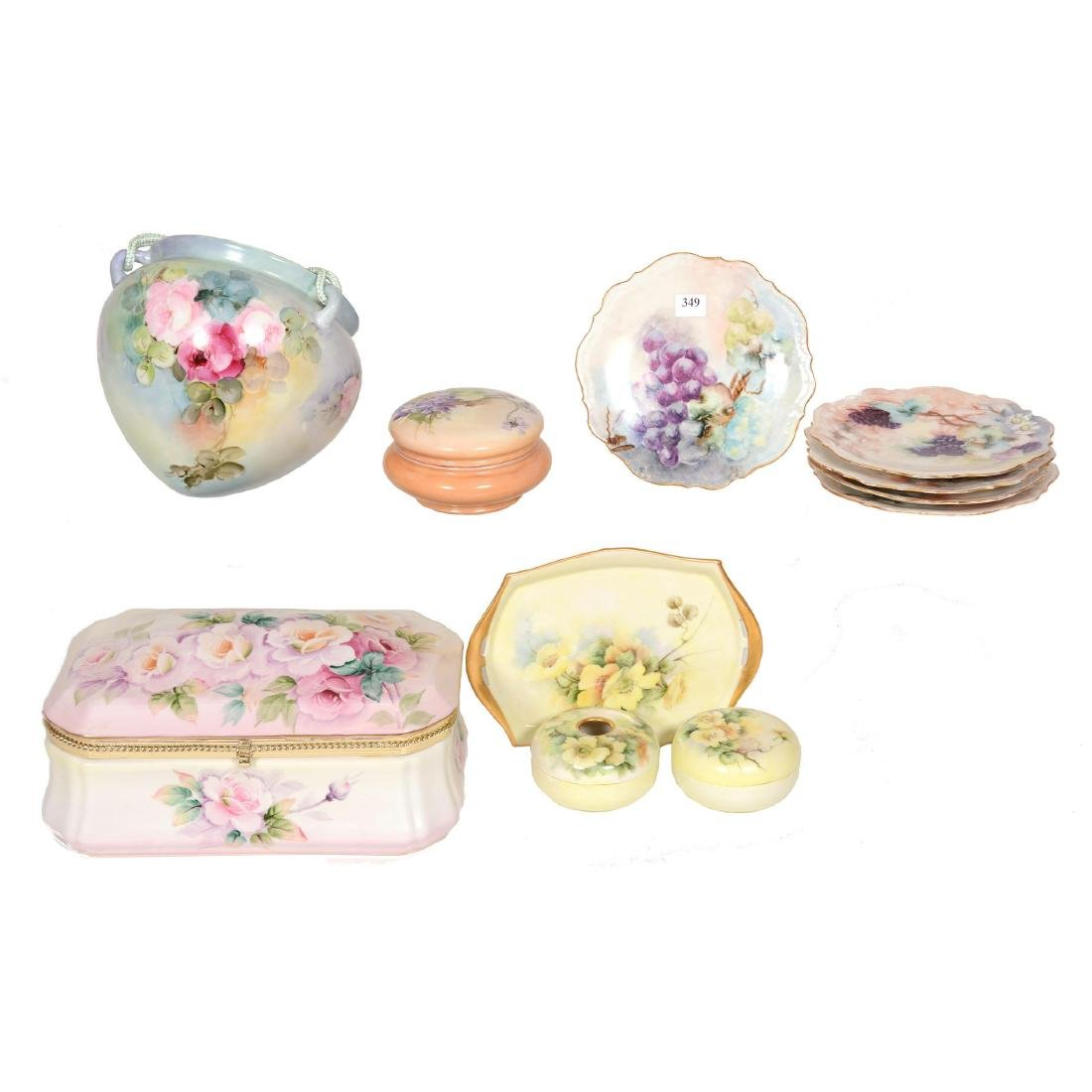 (11) Hand Painted Items