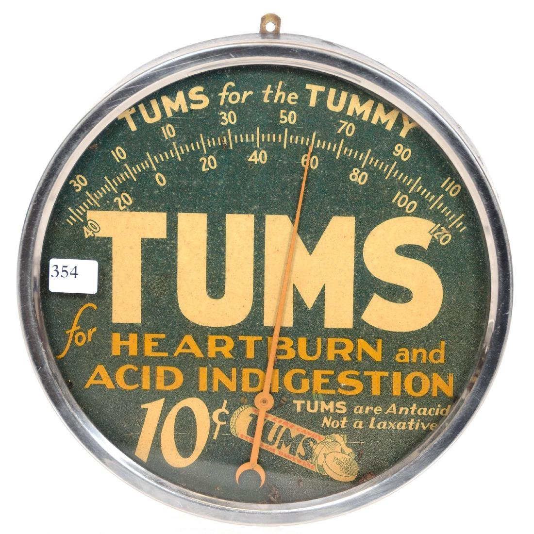 Vintage Advertising Thermometer