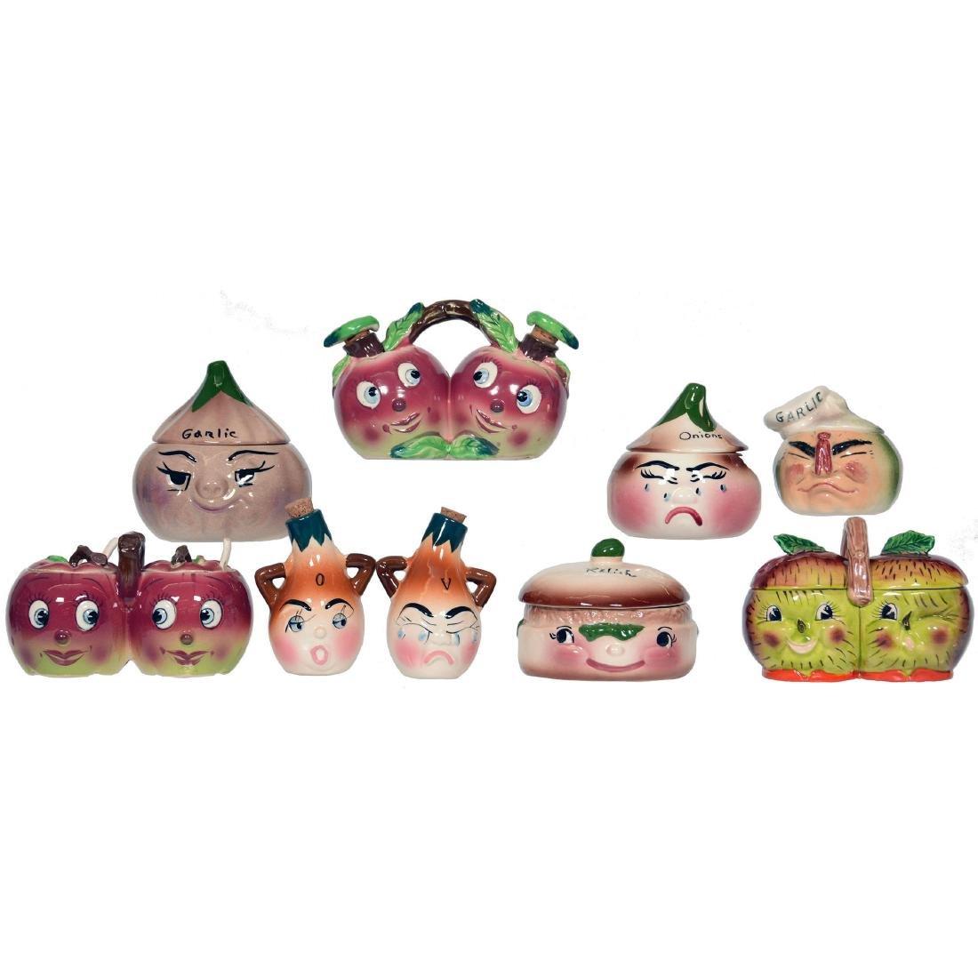 (9) Figural Ceramic Items